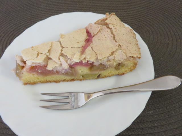ルバーブのケーキ