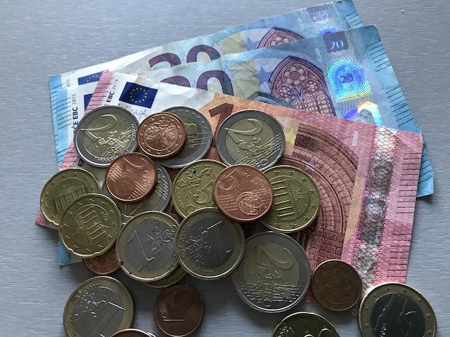 お金(ユーロ)