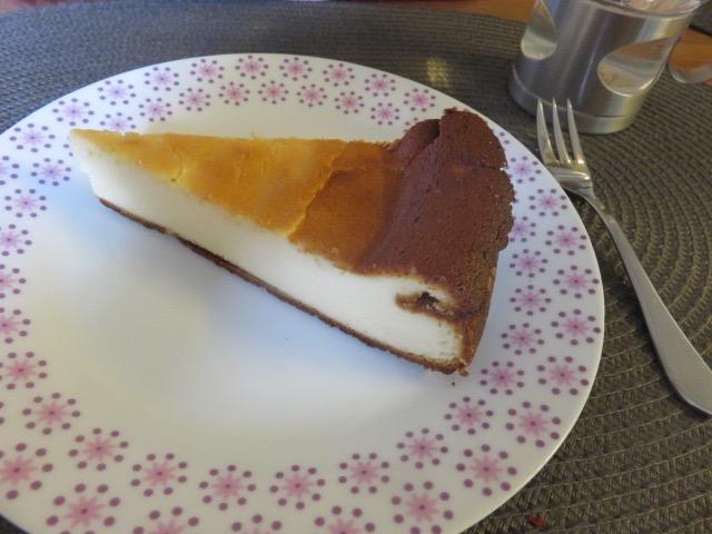 ケーキ皿(チーズケーキ)