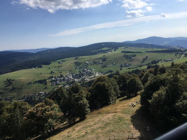 フライブルクからの眺め